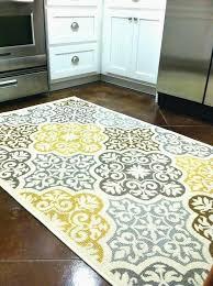 yellow kitchen rugs diy yellow and gray rug yellow kitchen mat gray intended for gray kitchen