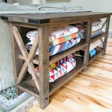 how to build rustic furniture. Delighful Furniture 80 Rustic X Console For How To Build Furniture T