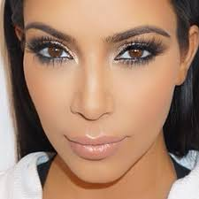 kim kardashian makeup tutorial cannes makeup look trinaduhra love her or her you can t deny