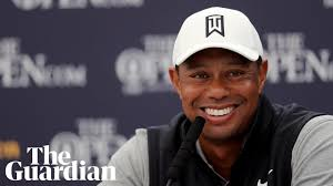 It's a funny story': Tiger Woods jokes about Brooks Koepka's snub at the  Open - YouTube