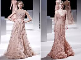 be inspired by dusty rose and dove grey coloured wedding dresses