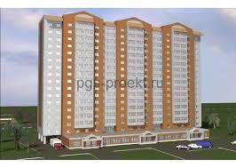 Купить дипломный проект многоэтажный жилой дом низкие цены  ПГС проект 17 этажный жилой дом со встроенным торговым центром в г Орел