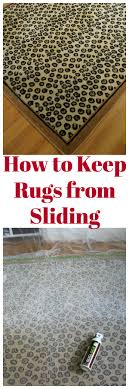 how to keep rugs from sliding rug slipping fix how to keep rugs in