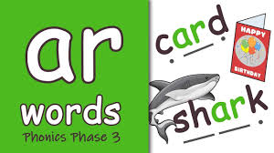 Click here for a teacher and parent guide. Ar Words Phonics Phase 3 Youtube