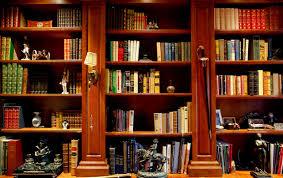 home office bookshelves. Library Bookshelf Mediterranean Home Office Santa Barbara Bookshelves L