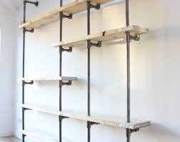 industrial style shelving. Awe Inspiring Industrial Style Shelving Excellent Ideas Loft Shelves Etsy