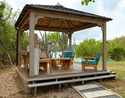 outdoor wooden gazebo diy kits round pergola ideas design home curved arbor plans shade outdoor