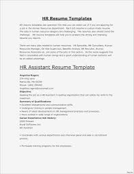 Sample Of Job Resumes Best Resume Sample Administrative Position New