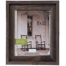 gray rustic barnwood wall frame 8 x
