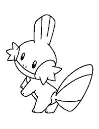 Pokemon Kleurplaten Mudkip