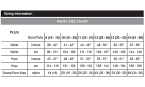 Just My Size Size Chart Up To 63 Off On Womens Plus Size Hi Cuts 3 Pk Groupon