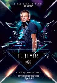 Free Flyer Download The Electro Dj Promotion Free Flyer Template