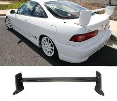 1995 black acura integra. 19942001 acura integra 4 dr sedan mugen trunk spoiler wing black carbon fiber 1995