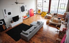Multi Purpose Living Room Interiors Of A Studio Apartment Furnituredekho