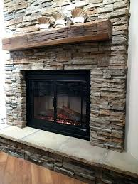 stacked stone fireplace diy lovely stacked stone fireplace for s media cache stacked stone fireplace with