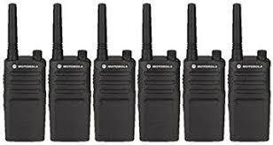 motorola walkie talkie. 6 pack of motorola rmm2050 two way radio walkie talkies talkie