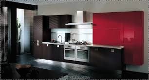 Kitchen Design Interior Decorating Agreeable Modular Kitchen Design Ideas With L Shape And White Red 54