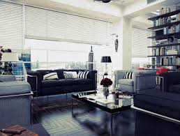 comfortable big living room living. Cool Living Room Comfortable White Gray Sofas Shelving Big D