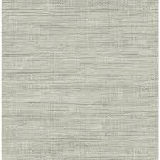 brewster island grey faux grasscloth wallpaper