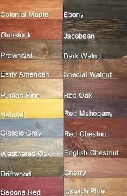 Varathane Classic Wood Stain Color Chart Varathane Dark Walnut Stain Affairstocater Co