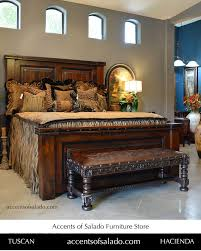 spanish style bedroom furniture. old world long leather bench and bed at accents of salado furniture store accentsofsalado spanish style bedroom furniture a
