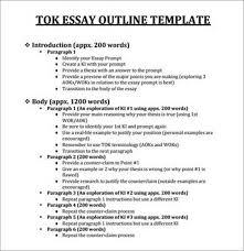 tok essay example tok essay outline sample essay outline format tok essay tok essay outline ib tok essay rubric wikispacescom