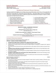 Network Security Specialist Resume Sample Resume Resume