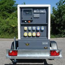 diesel generator. 20kva Silenced Diesel Generator - Road Towable