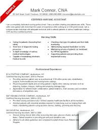 Nursing Assistant Resume Template Best of Cna Resume Templates Resume Examples No Experience Related To