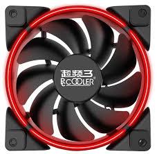 <b>Вентилятор</b> для корпуса <b>PCcooler CORONA</b> RED — купить по ...