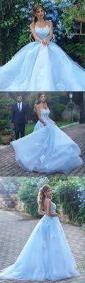 Light Blue Prom Dresses 2018 Light Blue Evening Dress Lace Appliques Prom Dress Elegant Bridesmaid Dress Long Formal Gowns Prom Dresses 2018 M0562