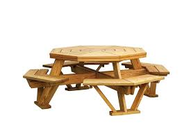 wood picnic table childrens wooden picnic table with umbrella wood picnic table detached benches