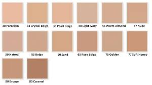 Elizabeth Arden Flawless Finish Foundation Colour Chart Max Factor Facefinity All Day Flawless 3 In 1 Foundation
