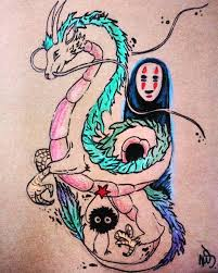 Cesta Do Fantazie Tattoo Idea Anime Na Které Jsem Koukala Jako