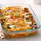 black bean   rice enchiladas  inexpensive vegetarian cuisine