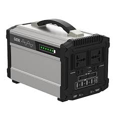 500w portable power station solar generator lithium 444wh home backup emergency supply charged by portable power generators a33 portable