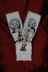 Free Marilyn Monroe Embroidery Designs Marilyn Monroe Towels And A Monogram Towel I Embroidered