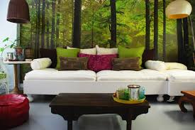 Green Decoration House Inside One Total Nature