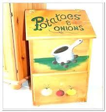potato onion storage bin free plans wooden and vegetable wood kitchen box potato onion storage bin free plans and wooden pin baskets