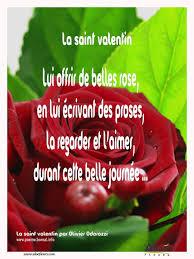 Citations Damour Et Saint Valentin Lui Offrir De Belles Rose En