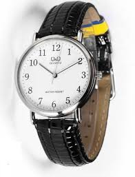 citizen made q amp q c150j304y classic white dial 40mm leather citizen made q q c150j304y classic white dial 40mm leather strap mens watch