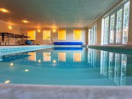 indoor pool. Luxury Holiday Apartment With Exclusive Heated Indoor Swimming Pool And Sauna U