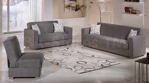 Living Room Set With Sofa Bed Tokyo 2 Pc Living Room Set Diego Gray Sofa Sleeper And Loveseat