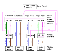 electric window wiring diagram wiring diagrams and schematics power window wiring schematic