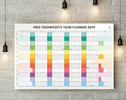 Multi Year Planner Pirongs Personalised Wall Planner 2019 2020