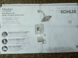 kohler maxton brushed nickel 1 handle bathtub and shower faucet for in pleasanton ca offerup