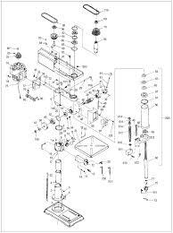 drill press parts. wilton 2500 parts schematic drill press