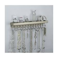 Wall Mount Long Necklace Holder Hanging Jewelry Organizer By AngelLynns