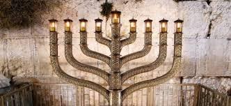 Image result for Netanyahu lights hanukkah at Western Wall