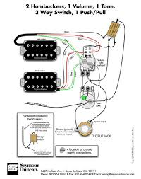 Wiring Diagrams For Split Humbuckers 1 Volume 1 Tone Single Humbucker One Volume Wiring